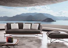 Rivera Outdoor Collection, Rodolfo Dordoni Design #lifescape #outdoor  #rivera #sofa