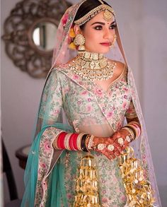 Looking for Bridal Lehenga for your wedding ? Dulhaniyaa curated the list of Best Bridal Wear Store with variety of Bridal Lehenga with their prices Designer Bridal Lehenga, Indian Bridal Lehenga, Indian Bridal Outfits, Indian Bridal Fashion, Bridal Dupatta, Bridal Sari, Muslim Wedding Dresses, Bridal Dresses, Floral Lehenga