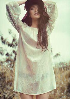 Model: Da Jeong kim  Photo: Rey Fernandez Hair & make up: Moriel De Dios