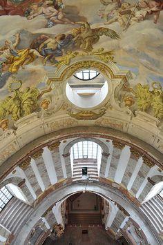 Karlskirche - (St. Charles church) Vienna, Austria - begun 1716