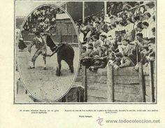 PLAZA TOROS EN BALMASEDA AÑO 19...