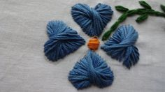 Hand Embroidery  Butterfly Stitch by Amma Arts