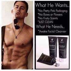Men's facial cleanser  www.youniqueproducts/lucymarks