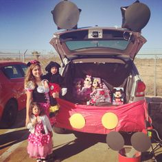 Trunk or treat!! Mickeys club house! Minnie Mouse!!