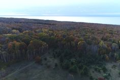 Northern Michigan From Above Fall Color Tour