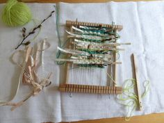 weaving in progress | by Ines Seidel