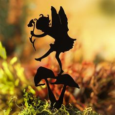 Thumpkin Fairy Garden Shadow Silhouette