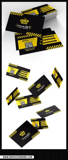 This template is just perfect for taxi drivers to get around on their business. With its beautiful design, you can reach others to use your service among the competition. As entrepreneurs we want your career to look, feel, and be professional. That is what makes Taxi Business Card Template perfect for you!