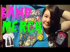 YouTube band merch collection :) suicide silence a day to remember snow white's poison bite bring me the horizon asking alexandria Asking Alexandria, Bring Me The Horizon, A Day To Remember, Band Merch, Patches, Bands, Snow, Buttons, Videos