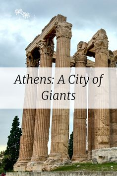 Athens: A City of Giants Us Travel, Travel Tips, Travel Destinations, Beautiful Photos Of Nature, Nature Photos, Wildlife Photography, Travel Photography, Travel Around The World, Around The Worlds