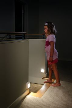 Do your kids always forget to turn off the hallway night lights? Mr Beams Motion Sensing Night Lights for hallway safety only turn on in the dark when you need them and automatic shut off when you don't. Plus, battery operated allows you to place anywhere you need them, regardless of nearby outlets.