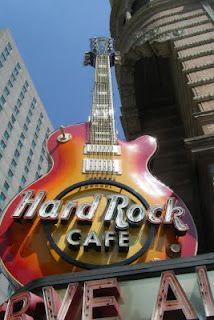 Hard Rock Cafe bucket list