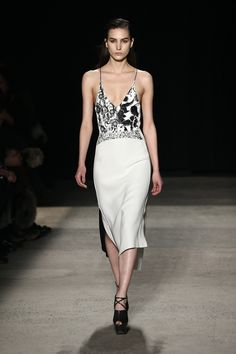 The Best Dresses From New York Fashion Week  - ELLE.com I would so wear this dress when I go into the city =)
