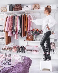 Azzi & osta women fashion outfit clothing style apparel roress closet i Dream Closets, Dream Rooms, Closet Bedroom, Bedroom Decor, Glam Room, Closet Designs, Beauty Room, Closet Organization, My Room