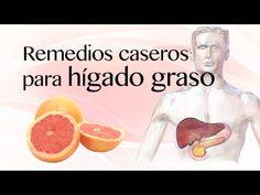 Remedios caseros para hígado graso (esteatosis hepática) - Remedios naturales - YouTube
