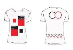 "T-Shirt Design: Jenny Holzer Truism ""Private Property Created Crime"" of Jenny Holzer, Private Property, Design Projects, Crime, My Design, Shirt Designs, T Shirt, Fashion, Supreme T Shirt"