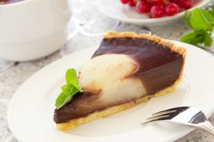 csokis-kortes-pite Tutti Frutti, Cheesecake, Deserts, Food And Drink, Dessert Recipes, Pie, Meals, Quiches, Tartelette
