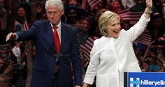 Two of the women, Broaddrick and Kathleen Willey allege that Hillary Clinton not only knew about the assault at the time, but threatened physical violence against the women should they disclose what had happened to them with investigators even following Willey around, flattening her tires, and threatening her leaving the alleged survivor saying that she feared for her life.  Former President Bill Clinton stands on stage with his wife, Democratic presidential candidate Hillary Clinton.