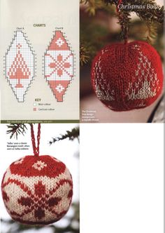 Main Colors, Mittens, Christmas Bulbs, Crochet Earrings, Chart, Holiday Decor, Recipes, Tricot, Fingerless Mitts