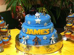 Star Wars Baby Shower Cake | My Future Chirren | Pinterest