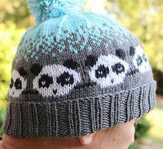 Ravelry: Pandamonium pattern by Karin Michele