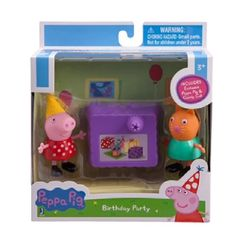 Peppa Pig Birthday Party play set