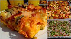 Πίτσα θεική με πολύ ωραία ζύμη !!! ~ ΜΑΓΕΙΡΙΚΗ ΚΑΙ ΣΥΝΤΑΓΕΣ Cookbook Recipes, Cooking Recipes, Calzone, Lasagna, Cauliflower, Food Processor Recipes, Pizza, Favorite Recipes, Meals