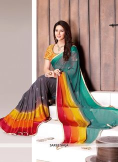 http://www.sareesaga.in/index.php?route=product/product&product_id=14105 Style	:	Casual	Shipping Time	:	7 to 9 Days Occasion	:	Casual	Fabric	:	Faux Georgette Colour	:	Multi Colour	 Work	:	Lace Work For Inquiry Or Any Query Related To Product, Contact :- 91-9825192886, +91-7405449283