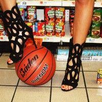 Basket - weave shoeball