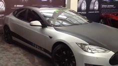 Tesla T Sportline | LA Auto Show