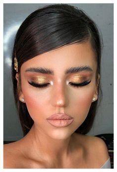 Glam Makeup, Makeup Inspo, Bridal Makeup, Makeup Inspiration, Makeup Ideas, Makeup Lips, Glamorous Makeup, Clown Makeup, Easy Makeup