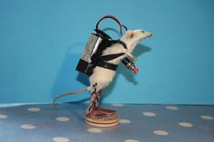 Taxidermy Robot Mouse £80.00