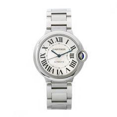 Cartier Women's W6920046 Ballon Bleu Stainless steel Watch: Watches