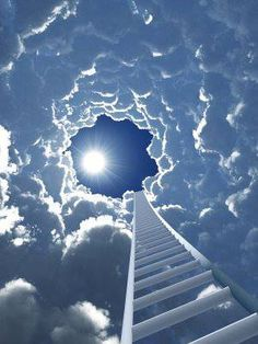 Stairway to Heaven. One if Shauna's favorite songs was Stairway to Heaven. I miss my daughter. Stairway To Heaven, Images Bible, Beautiful Places, Beautiful Pictures, Heaven Pictures, Prophetic Art, A Course In Miracles, Christian Art, Belle Photo