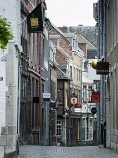 Stokstraat (Stok Street), Maastricht, Limburg, the Netherlands