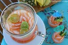 Kelly from the LilyPad Cottage shares her delicious Rum Punch recipe which is absolutely to die for!