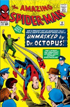 Amazing Spider-Man # 12 , May 1964 , Marvel Comics Vol 1 1963 Bubble Bobble, Amazing Spider Man Comic, Amazing Spiderman, Spiderman Classic, Comic Book Pages, Comic Book Covers, Cover Books, Vintage Comic Books, Vintage Comics