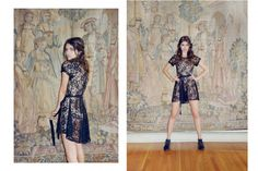 A Drop-Dead Gorgeous Euro-Style Lookbook Shot In Our Backyard!