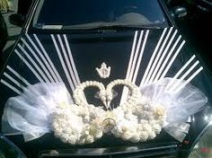 Картинки по запросу украшения свадебного кортежа фото