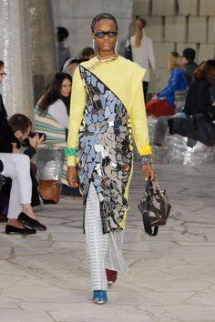 Loewe Spring 2016. See the best runway looks from Paris Fashion Week here: