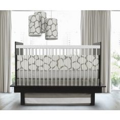 #baby #decor ~ sophisticated #crib for the #trendy #home