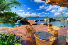 The views from this Katsura, Virgin Gorda, British Virgin Islands backyard are almost too beautiful to be real!