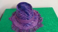 Hat,Felted hat, Fairy, OOAK, Handmade, in USA, , Wearable art, Organic,women hat, art hat, felted art, Renaissance hat, Wonderland by rafaelart on Etsy