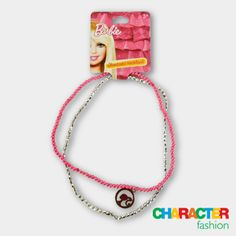 #CharacterFashion Barbie Necklace Gifts For Kids, Great Gifts, American Girl Books, Character Group, 9 December, Funky Fashion, Gift Vouchers, Fashion Accessories, Barbie