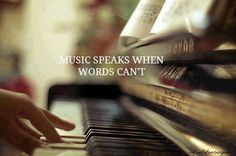 Learn to play the piano. In retrospect, I now really wish I wouldn't have convinced my mom my piano teacher of two-and-a-half months was evil. Sound Of Music, Music Is Life, My Music, Piano Music, Music Stuff, Music Things, Gospel Music, Preachers Wife, Le Piano