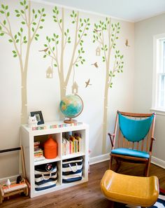 Kid room wall decals - Easy to stick: http://wallconsilia.com/