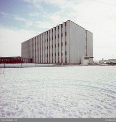 Tiedemanns tobakksfabrikk, snø