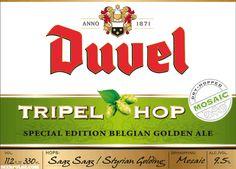 Elk jaar zal de Duvel Tripel Hop met een ander geselecteerd hop worden gebrouwen. Voor Duvel Tripel Hop 2015 selecteerden de brouwers de aromatische hopsoort EQUINOX uit de Verenigde Staten.Dank zij de derde hopsoort kent Duvel Tripel Hop 2015 een fruitig aroma van pompelmoes en limoen, met een lichte toets van groene peper. Door het toepassen van de 'dryhopping' techniek, waarbij we de Equinox hopbellen pas later in het brouwproces toegevoegen, worden deze hop-aroma's extra waarneembaar.