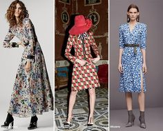 Pre-Fall 2016 Fashion Trends: Prints  #trends #fashion #fashiontrends