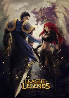 「Katarina×Garen League of Legends | missyoka」